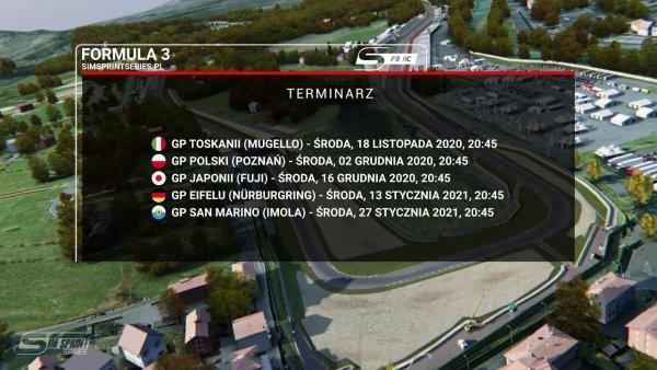 Rekrutacja do ligi Assetto Corsa - Formuła 3