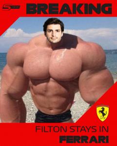 Filton pozostaje w Ferrari!