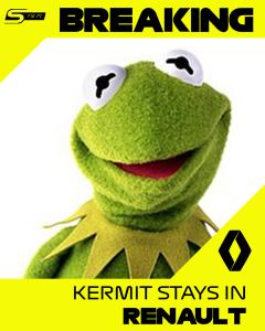 Kermit zostaje!